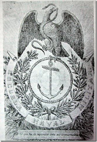Escudo de la Escuela Naval Militar