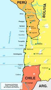 mapa guerra chile peru