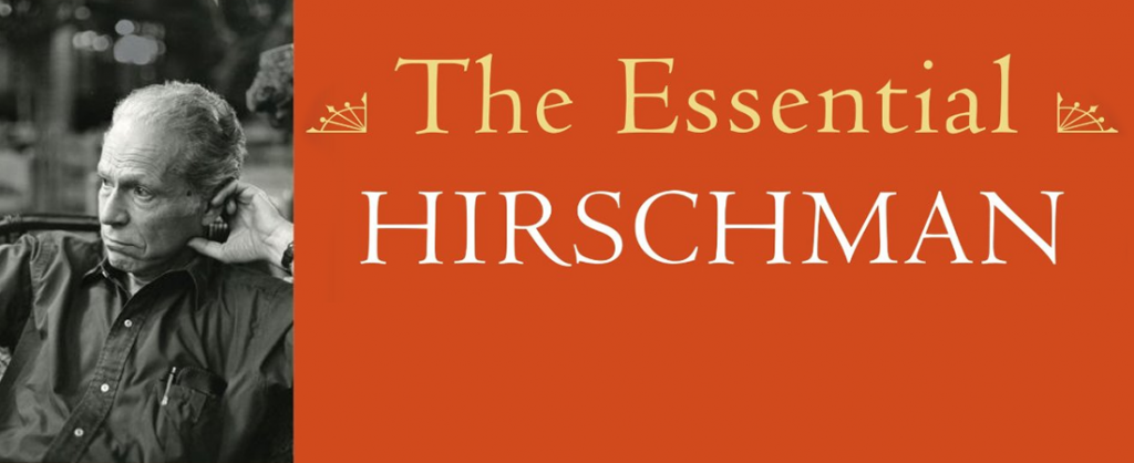 Open Forum on Jeremy Adelman's biography of Albert Hirschman
