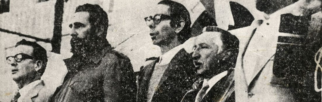 """Interview with Rafael Pedemonte, author of """"The Meeting of Revolutionary Roads: Chilean-Cuban Interactions, 1959–1970"""""""